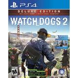 Watch Dogs 2: Deluxe Edition Ps4 Fisico Sellado