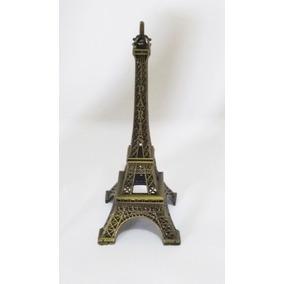 Torre Eiffel Paris Metal Promoção Decoração 10cm