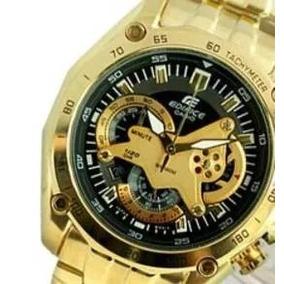 Relógio Casio Edifice Ce2 Red-bull Ef 550rbsp Dourado Preto