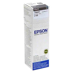Refil Epson T6641 Black Original