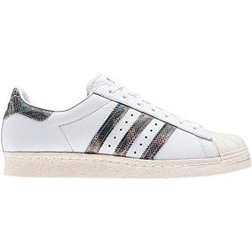 Tenis Originals De Piel Superstar 80s Hombre adidas Bz0148