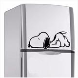 Adesivo Snoopy Para Geladeira, Parede E Móveis