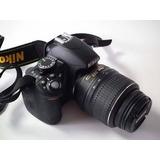 Cámara Nikon Réflex D3100 Poco Uso Y Buen Estado