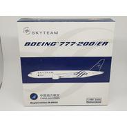 Miniatura Avião Phoenix 1:400 China Southern Boeing777-200er