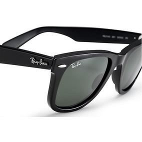Óculos Ray-ban 2140 Wayfarer Original Preto 50%off