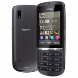 Celular Simples Barato Nokia Asha 300 - 5mp- 3g - Grafite