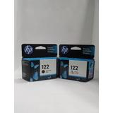 Kit Cartuchos Hp 122 Negro Y 122 Color (ch561hl Y Ch562hl)