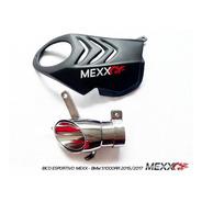 Escapamento Ponteira Mexx Bmw S1000rr 15/17 Akrapovic Cod112