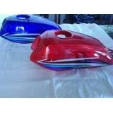 Tanque De Gasolina Moto Empire Horse Rayas Locas