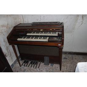 Organo Piano En Buenas Condiciones Antiguo