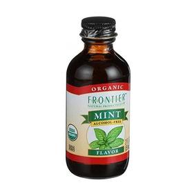 Sabor Menta Libre Alcohol (orgánica) Frontier Productos Natu
