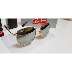 Oculos Ray Ban Hexagonal Espelhado Prata - Óculos De Sol Outros ... 2d8df6ffc7