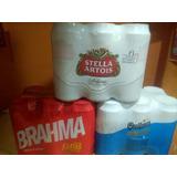 Cerveza Brahma Latas 473 Cc.