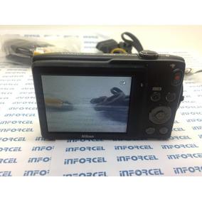 Câmera Nikon Coolpix S3300 6x Zoom,16.0 Megapixels