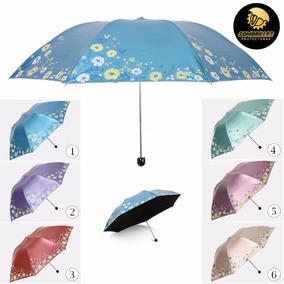 Sombrilla Paraguas Sol Protección Solar Uv Spf 50+ Doble