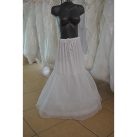 Crinolina Para Vestido De Novia Corte Sirena Tallas 28- 40