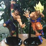 Figura/muñeco Dragon Ball Z Bardock Y Goku Lote X 2