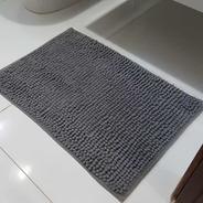 Tapete De Bolinha 40x60 Microfibra Banheiro Antiderrapante
