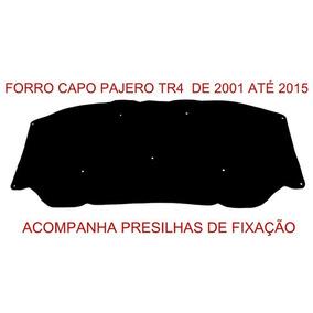 Forro Para Capô Pajero Tr4 2001 / 2015 Acompanha Grampos