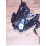 Video Camara Jvc,c/ Bateria Y Cargador,p/ Reparar O Repuesto