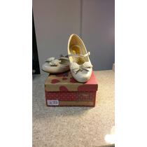 Sapato Menina Modelo Boneca Pérolas Número 33