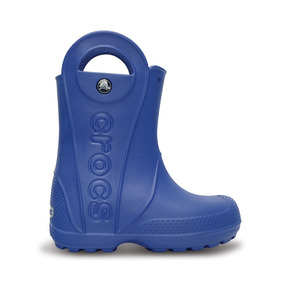 Crocs Originales Handle It Rain Boot Kids Azul Niños 430