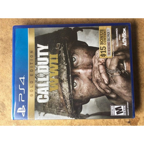 Call Of Duty Ww2 Gold Edition Ps4