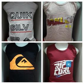 Kit 5 Camisetas Regata Infantil Meninos De Marca Atacado c74fd3da9f2