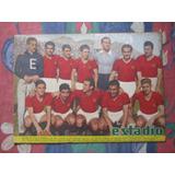 Estadio N° 591, 11 Sept 1954 Equipo De Union Española 1954