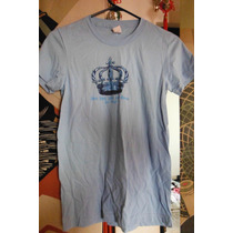 Blusa Hard Rock Cafe Baby Blue Crown Original Dama Mujer