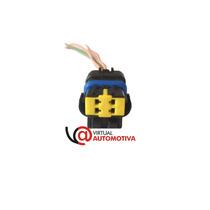 Chicote Plug Conector Sensor Temperatura: Palio,siena, Marea