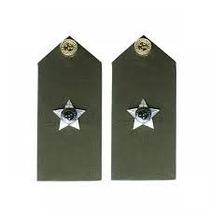 Platina De Segundo Tenente Do Exército Brasileiro - (par)
