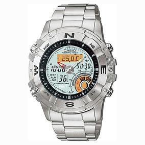 3ba0b06da9d Relogio Casio Amw 704 Aço - Relógios De Pulso no Mercado Livre Brasil