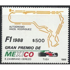 1988 Formula 1 Gran Prix Autos Mnh Autodromo Hnos Rodriguez