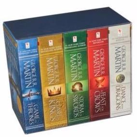 Game Of Thrones - 5 Libros Box Set - Juego De Tronos/ Inglés