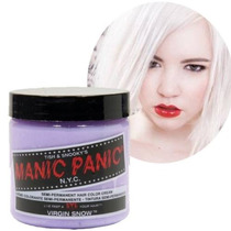 Tinte Manic Panic Virgin Snow/cabello Blanco 100% Vegano