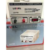 Fonte De Alimentação Marca Level Modelo Lv-f16 16 Amperes