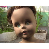 Muñeca Antigua Piel Angeli Fabricada En Colombia