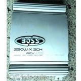 Planta O Amplidicador De Carro Boss Rev455 250wx2 Canales