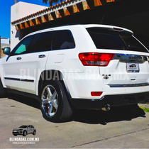 Blindada 2012 Jeep Cherokee Overland Nivel 5 Blindado