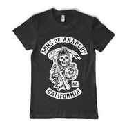 Remeras Sons Of Anarchy Soa Samcro Hijos De La Anarquia