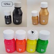 Body Paint Al Agua Maquillaje Titi 125cc -- Fluo Amarillo