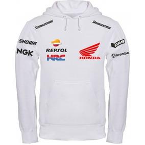 Moletom Blusa Casaco Honda Repsol Moto Rancing Motocross Top ebcec6ba86af2