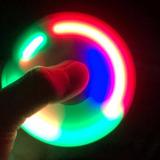 3x Spinne Fidget Hand Ansiedade Anti Estresse Rolamento Led