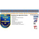 Guía Costos Construcción Del Civ Lulowin Ip3 Maprex Apv Pdf
