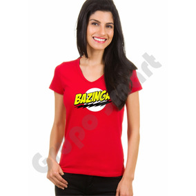 Camiseta, Camisa, Babylook, Bazinga Sheldon Cooper Série