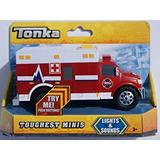 Juguete Tonka Luces Y Sonidos Más Duro Minis - Ambulancia
