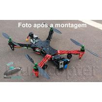Kit Montagem Drone Quadricóptero Motor Esc Gimbal Gopro Fpv