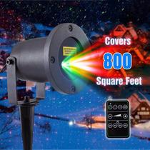 Luckled Laser Luz Navidad Led Proyector Con Control Remoto