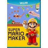 Super Mario Maker. Nuevo, Fisico Y Sellado. Wii U